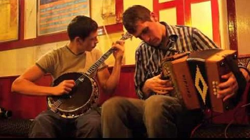 Traditional Irish Musicians in Doolin
